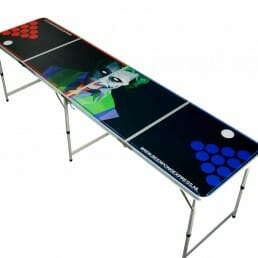 The Joker - Beer Pong Tafel - Inklapbaar - LED verlichting